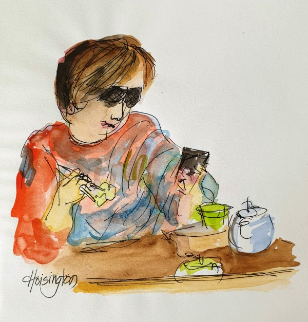 Brekkie Shades Phone by Kit Hoisington