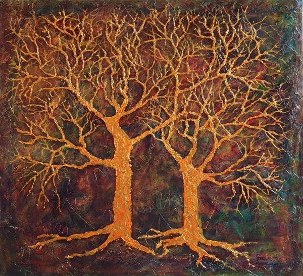 Golden Trees by Kit Hoisington