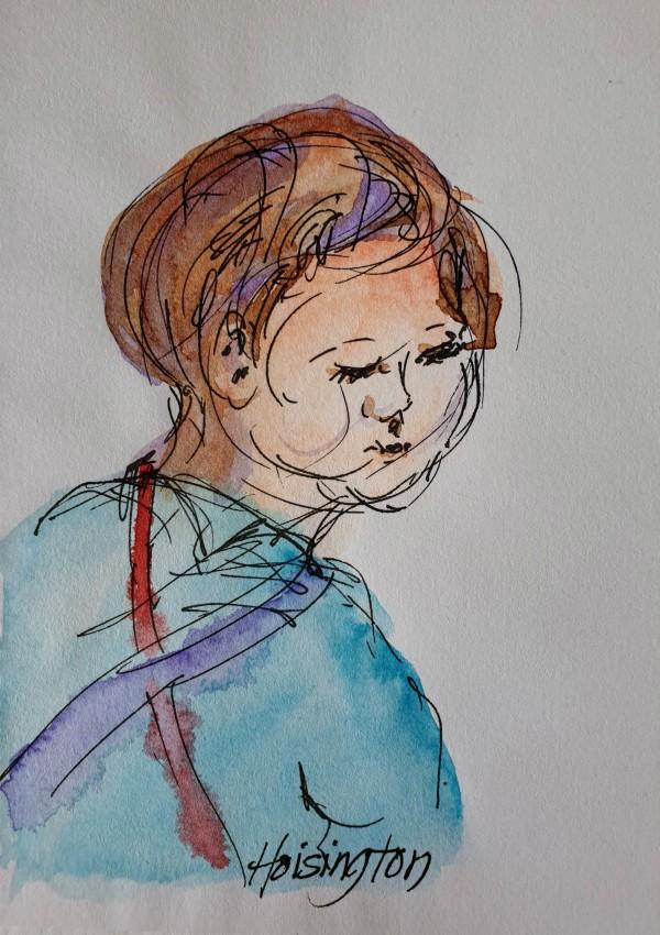Littley in Blue by Kit Hoisington