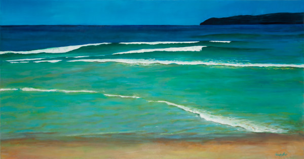 Low Tide Summer Sun by Kit Hoisington