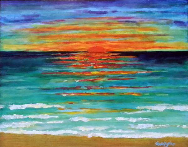 Sealight Sunrise by Kit Hoisington