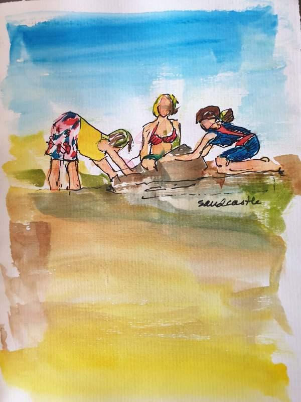 Sandcastle by Kit Hoisington