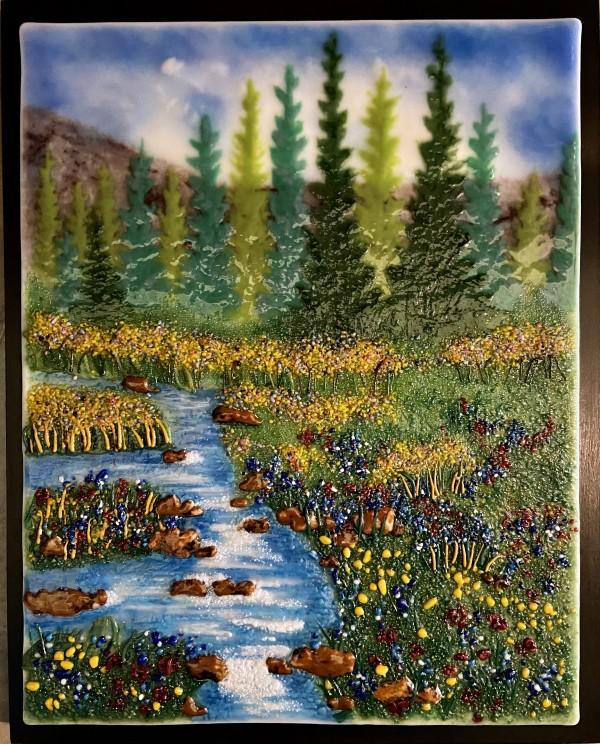 High Country Stream by Cindy Cherrington