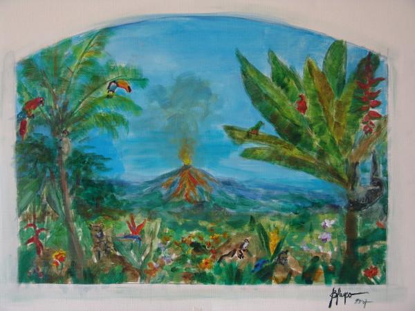 Jack's Wall sketch I by Jeannina Blanco