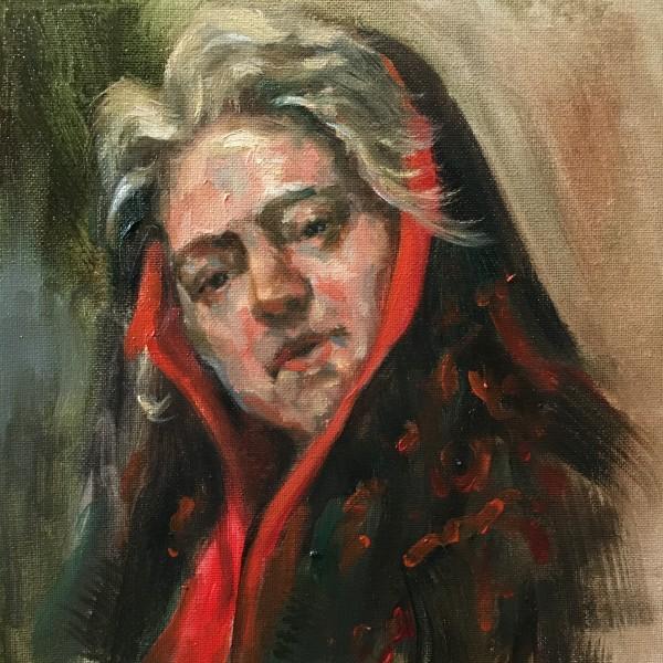 Study after Daniel Gerhartz by Jeannina Blanco
