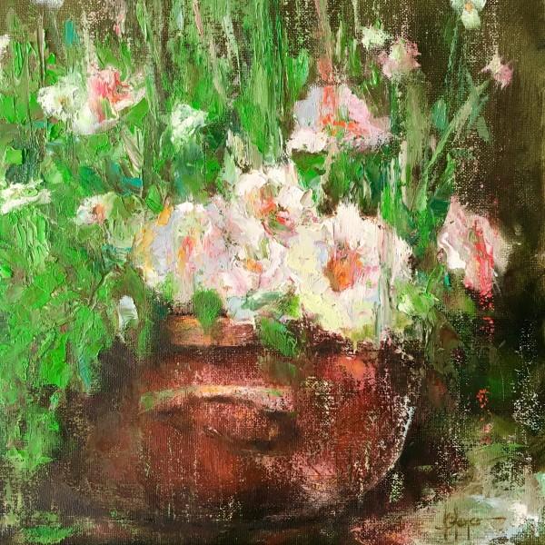 Lluvia de flores by Jeannina Blanco