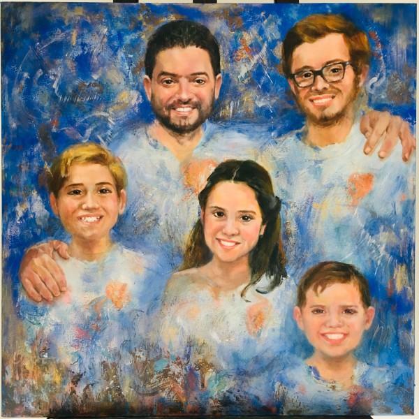 Familia Salazar by Jeannina Blanco