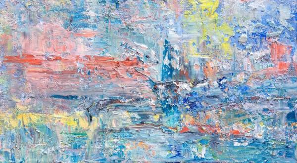 Advancing towards my vortex by Jeannina Blanco