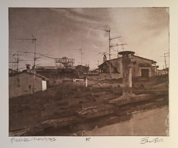 Firenze Rooftops - sepia by Ben Bull