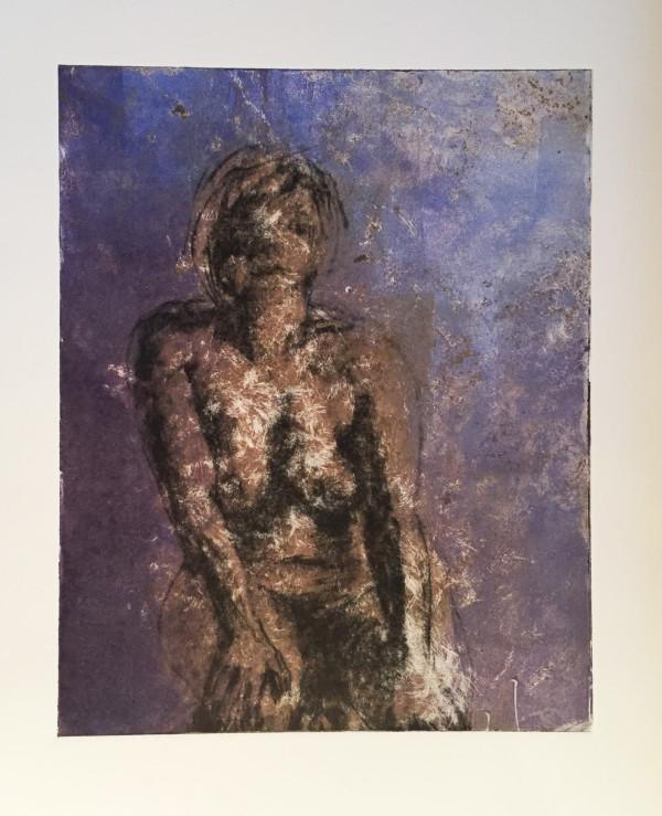 Girl: Purple Spatter by Ben Bull