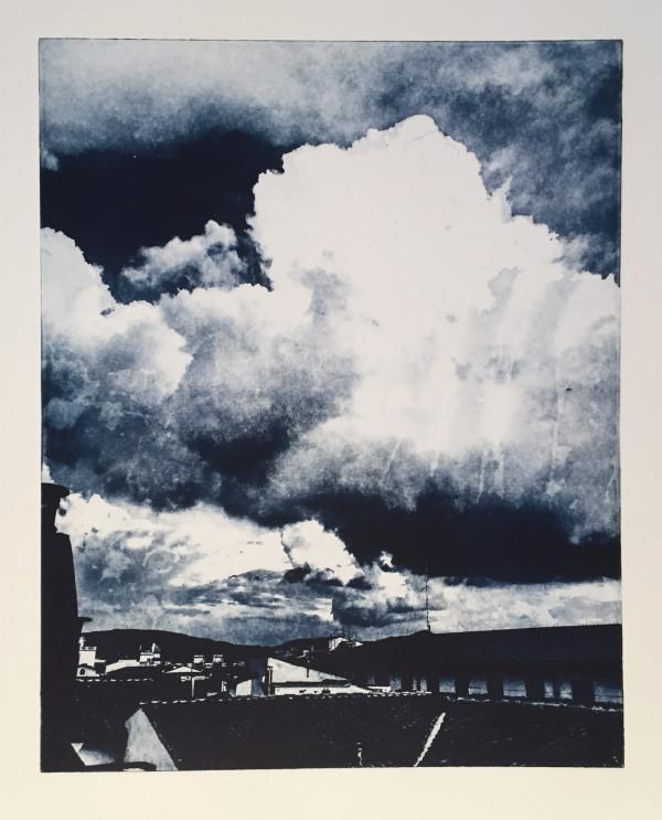 Turbulent Firenze - Blue by Ben Bull