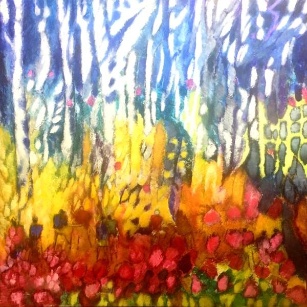 Colour Erupts by Marianne Enhörning