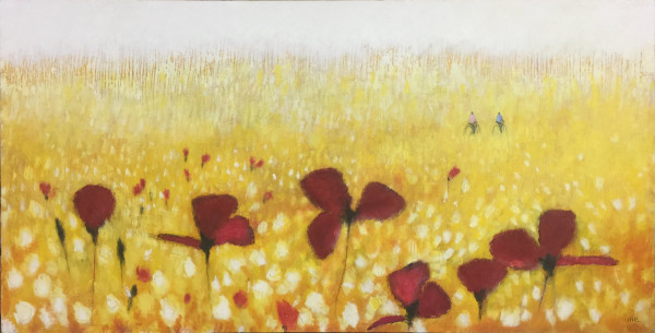 Field of Poppies #2 by Marianne Enhörning