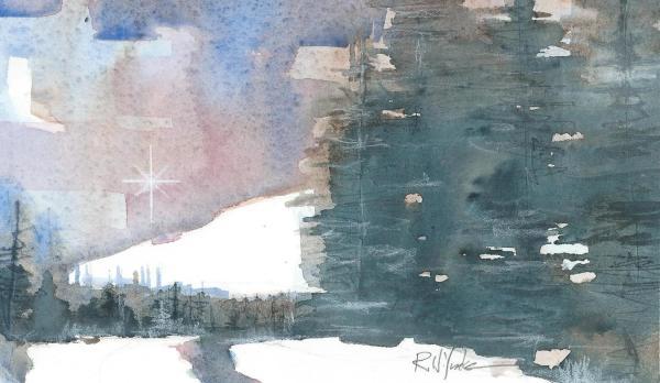 Christmas Night Star by Robert Yonke