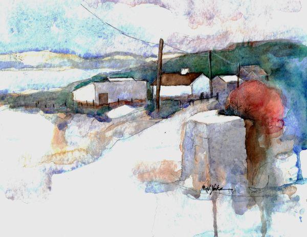 Road to Lisdoonvarna by Robert Yonke