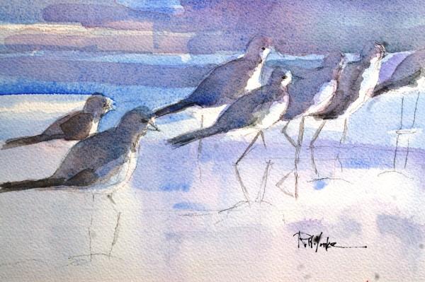 Morning Walk by Robert Yonke