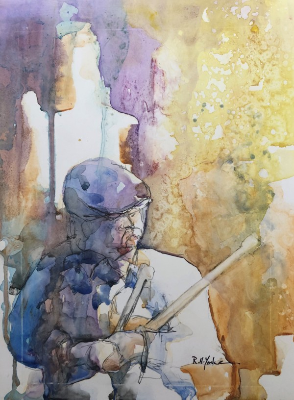 Piper on Yupo by Robert Yonke