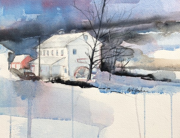 Stanton's Mill in December by Robert Yonke