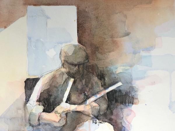 Uilleann Pipes by Robert Yonke