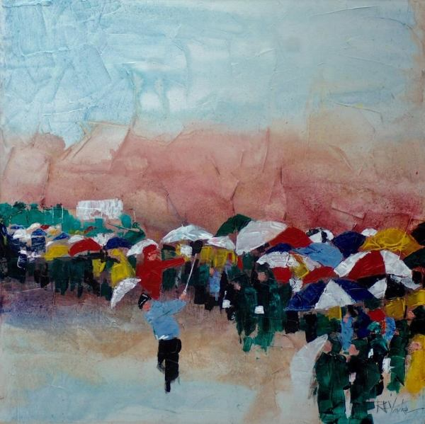 Umbrellas by Robert Yonke