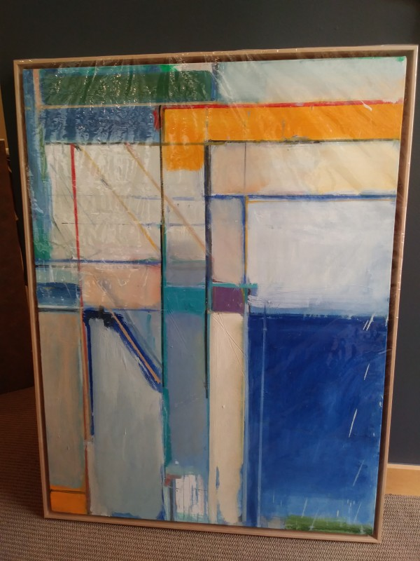 Thank You No. 1 (Tribute to Richard Diebenkorn) by Craig Marshall Smith