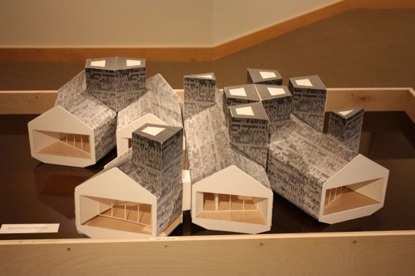 Element House (model) by MOS Architects