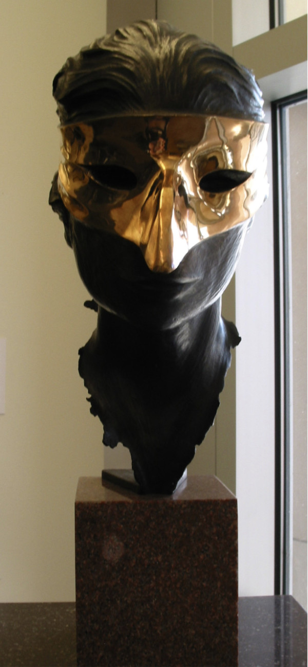 Bust of Harlequin by Harry Marinsky