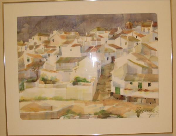 El Burgo, Andalusia, Spain by Harry Marinsky