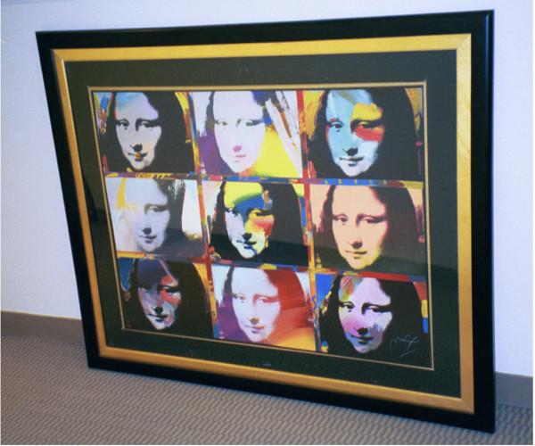 Mona Lisa Portraits by Peter Max