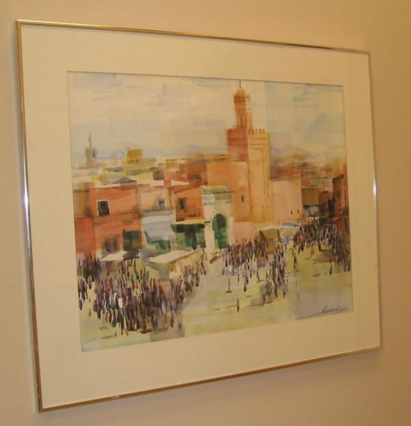 The Tower Medina, Marakash, Morocco by Harry Marinsky