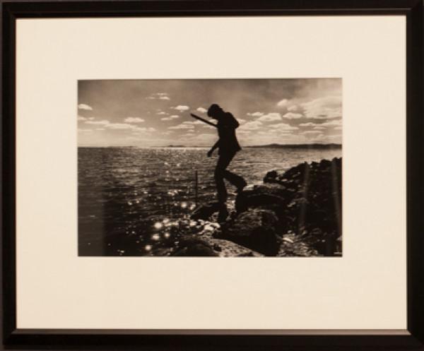 Robert Smithson on the Spiral Jetty 1 by Gianfranco Gorgoni