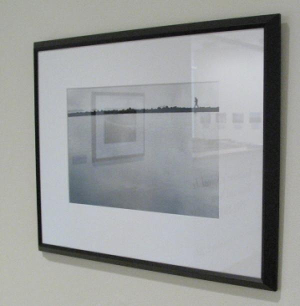 Robert Smithson on the Spiral Jetty 3 by Gianfranco Gorgoni