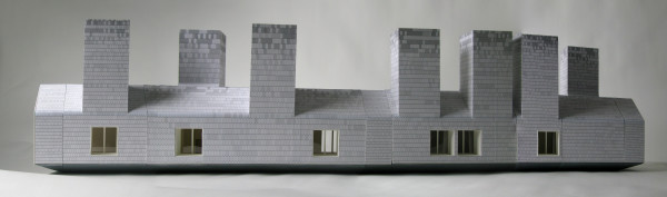 Long House (model) by MOS Architects
