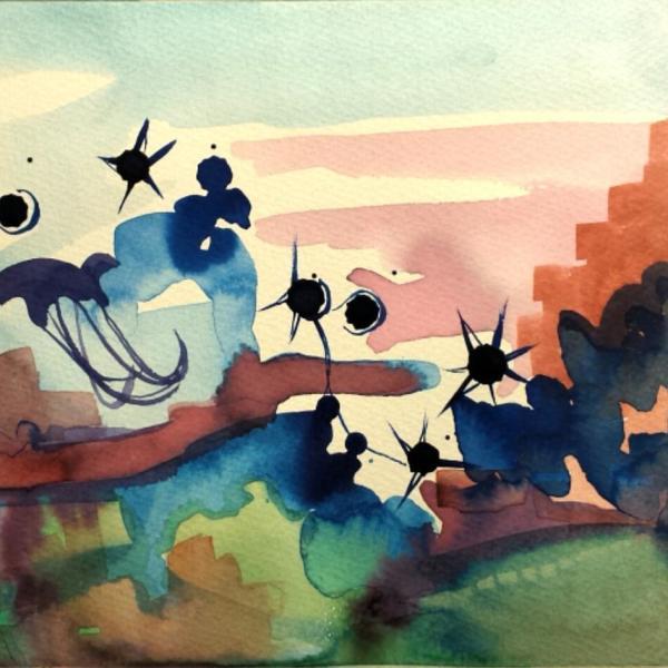 Underwater Stars by Jacks McNamara