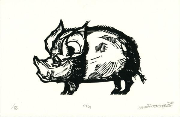 Pig by Jenn Rodriguez