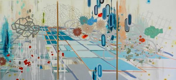 Subterranean (triptych) by Heather Patterson