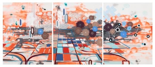 Terrain (triptych) by Heather Patterson