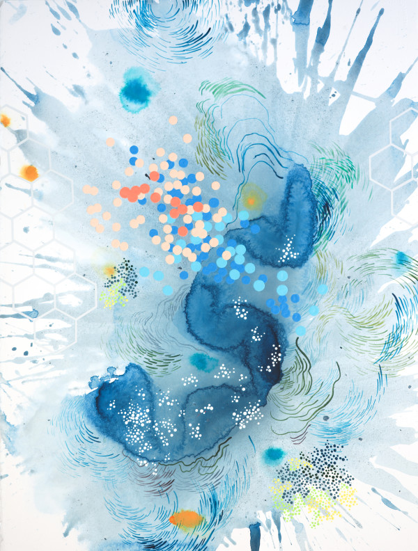 Tidal Flow 1 by Heather Patterson
