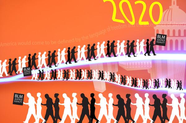 BLM March by Jessey Jansen