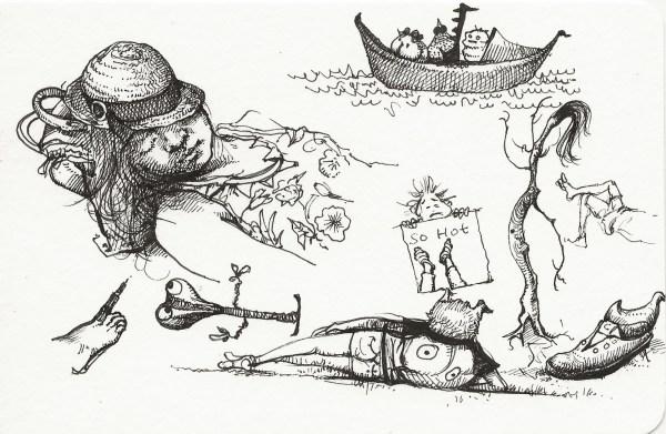 Reclining Figure by Shiqing Deng