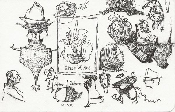 """""""Stupid Art"""" by Shiqing Deng"""