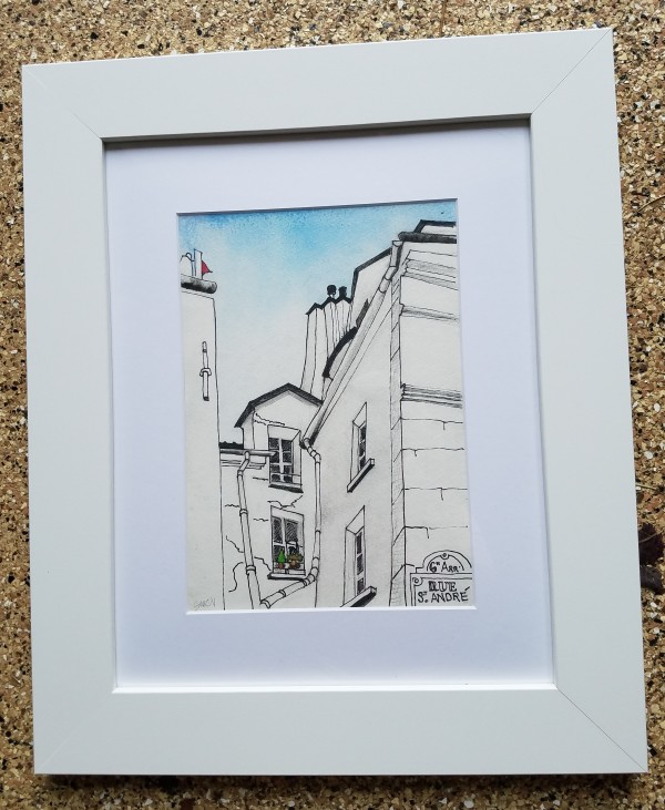 Sixth Arr: Rue St. Andre, Paris by Barnlady