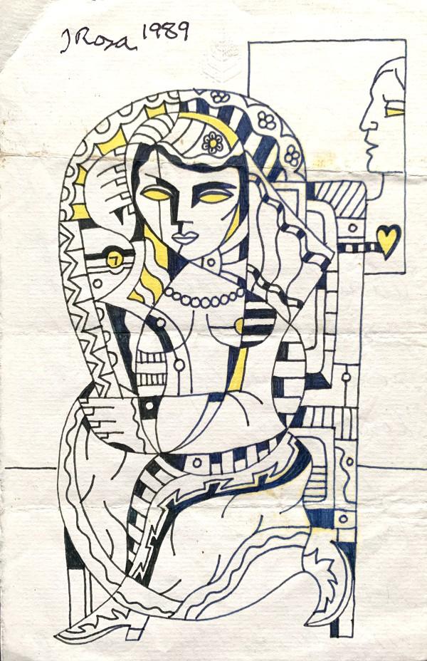 """Queen"" by John Rosa"