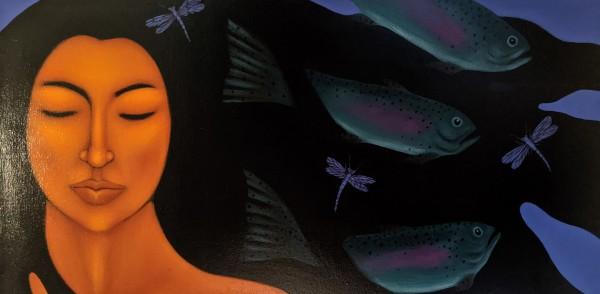 Simtustus Night Fish by Tamara Adams