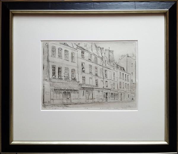 Rue St. Jacques, Paris - No. 4 by Llewellyn Petley-Jones (1908-1986)