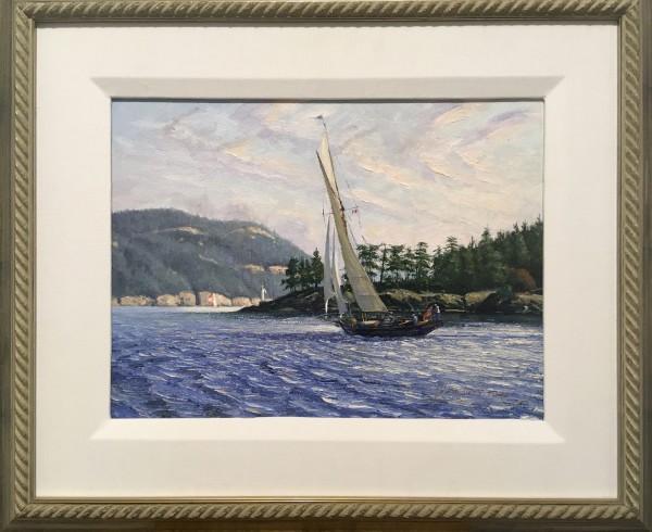 Thro Captain's Passage by John Horton (FCA, CSMA)