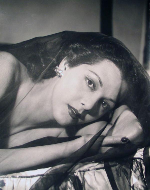 Maria Montez by Philippe Halsman