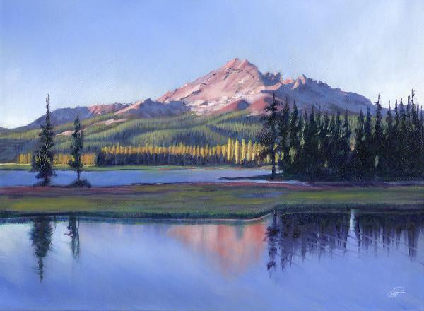 Broken Top on Sparks Lake by Pat Cross
