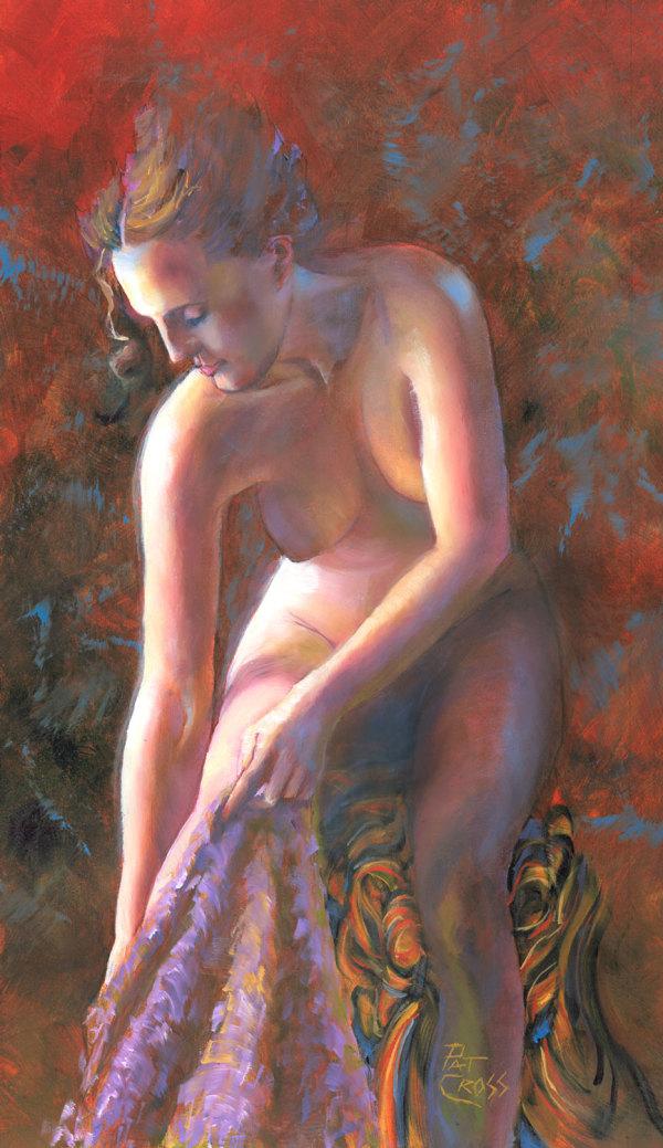 Morning Bath by Pat Cross