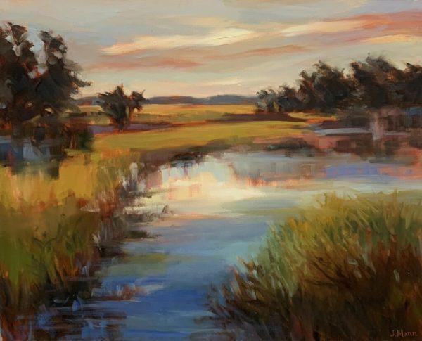Marsh Glow 2 by Julie Mann